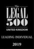 Legal 500 Leading individual 2019