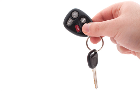 Car keys - basic hire rates