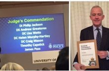 Timothy Capstick's Successful Prosecution results in Police Commendation image