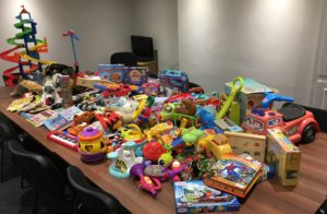Park Square Barristers support Kirklees Social Care for Christmas toy collection image