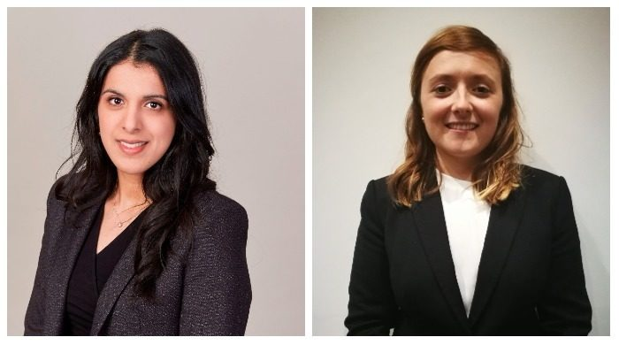 Anaum Riaz and Naomi McLoughlin work experience at Wakefield Metropolitan District Council