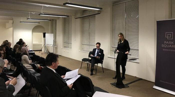 Over 80 delegates attend Family Law Seminar delivered by Nick Stonor QC and Charlotte Worsley