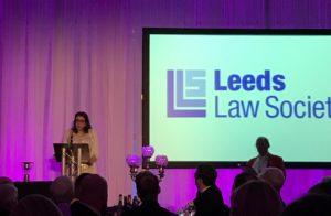 Kama Melly QC addresses Leeds Law Society Dinner image