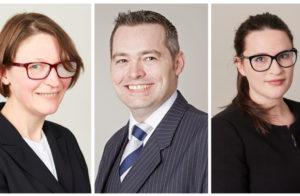Deputy District Judge Appointments for Judy Dawson, Adam Rhys-Davies and Camilla Buck image