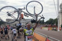 Prudential RideLondon – John Batchelor completes 100 mile charity bike ride image