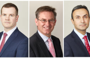 Recorder appointments for Craig Hassall, Richard Paige and Shufqat Khan image