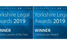 Great success for PSQB at the 2019 Yorkshire Legal Awards image