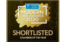 "PSQB shortlisted for ""Chambers of the Year"" at the 2020 Modern Law Awards image"