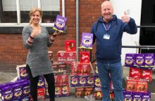 PSQB Easter Egg collection and donation to Child Friendly Leeds image