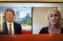 Kitty Colley appears on BBC Breakfast image