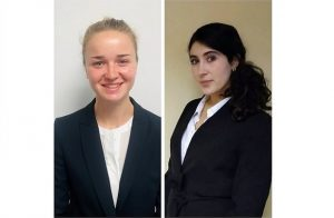 New pupils Eleanor Durdy and Leila Taleb all set to start their PSQB pupillage image