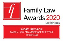 PSQB shortlisted for Regional Chambers of the Year at the 2020 Family Law Awards image
