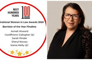 Inspirational Women in Law Awards – Kama Melly QC shortlisted for Barrister of the Year. image